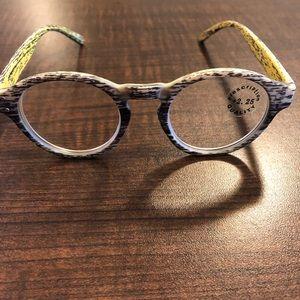 Reading glasses 2.25%